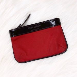Kate Spade Patent Leather Nylon Coin Change Purse